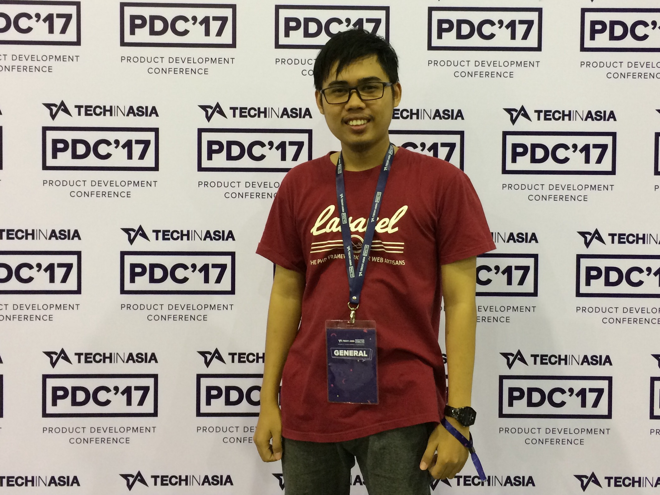Photo Booth di Tech in Asia Product Development Conference 2017